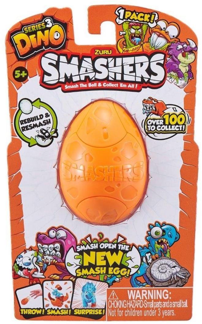 Smashers Дино-сюрприз в яйце, 1шт.,в асс-те