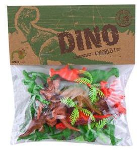 Набор фигурок Динозавры, 16шт., пакет