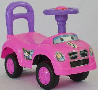 Машина-каталка Авторалли роз.,  гудок, кор