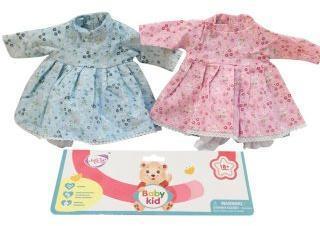 Платье Нежное для куклы 39-45 см, в ассорт., пакет
