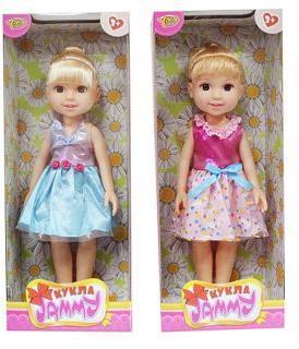 Кукла Джемми 32 см Летнее настроение, в ассорт., кор.