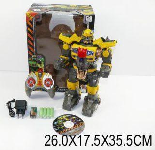 Робот ИК Армагеддон, свет, звук, 4 канала, режим боя, элементы питания входят в комплект