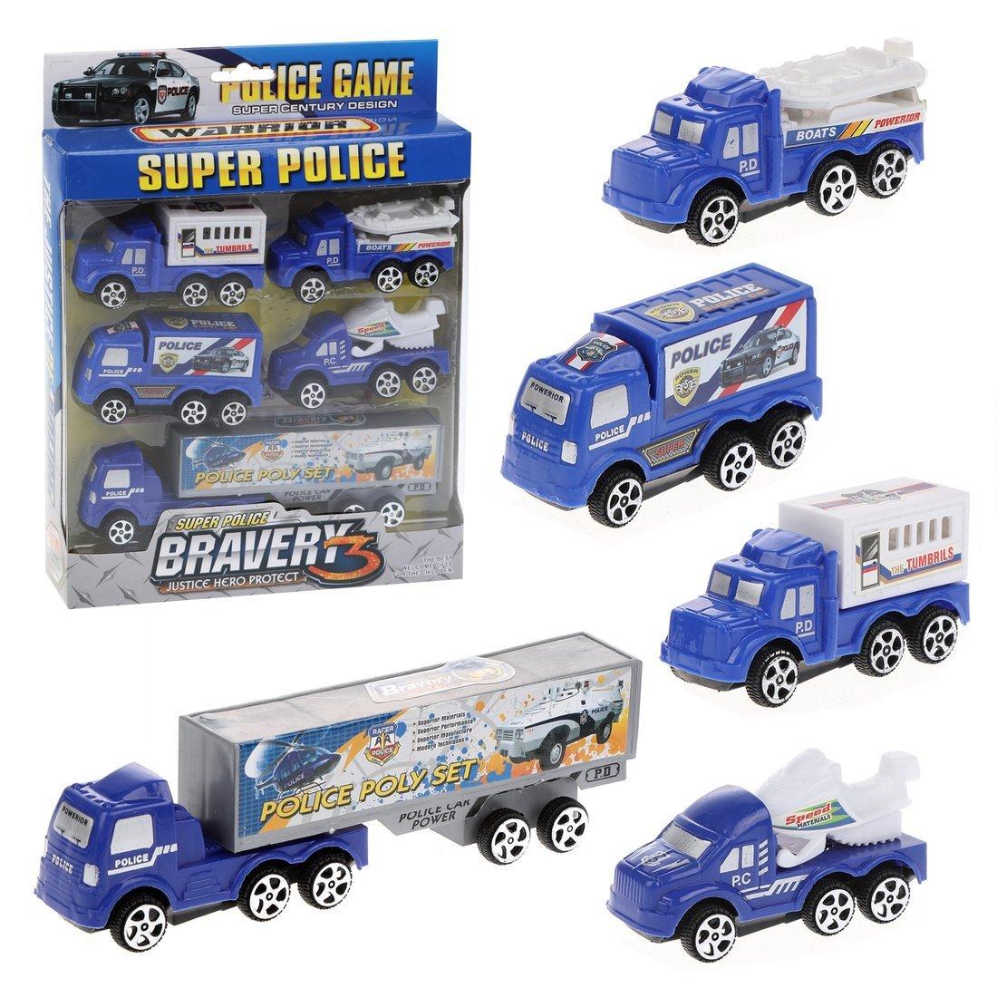 Машина ин., набор Полиция
