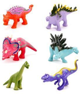 Набор животных, Динозавры, 6 шт., пакет