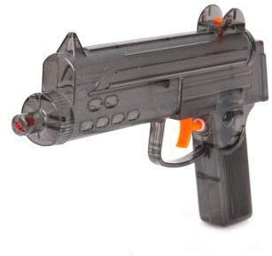 Пистолет водяной 21,5 см, в ассорт.