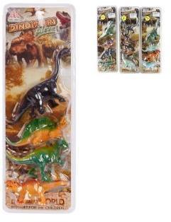 Набор фигурок Динозавры, 4шт., блистер, в ассортименте
