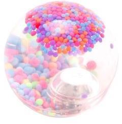 Мяч прыгун Калейдоскоп, 6,5 см, свет, дисплей