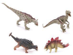 Набор фигурок Динозавры, 4шт., пакет