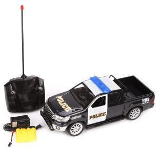 Машина р/у, Полицейский пикап, свет, аккум., эл.пит.AA*2шт. не вх.в компл.