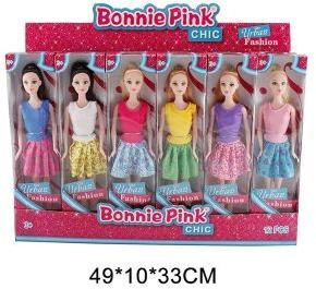 Кукла Bonnie Pink Городская мода 29 см, в ассорт.