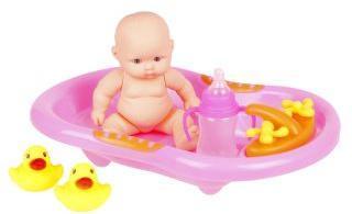 Пупс Мой малыш, ванночка, аксес 3 пред., сетка