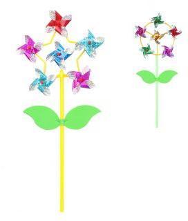 Вертушка Цветик с листочками 6 в 1, 48 см