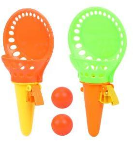 Набор: поймай мячик, ловушка 2шт. 18 см, мяч 2 шт.