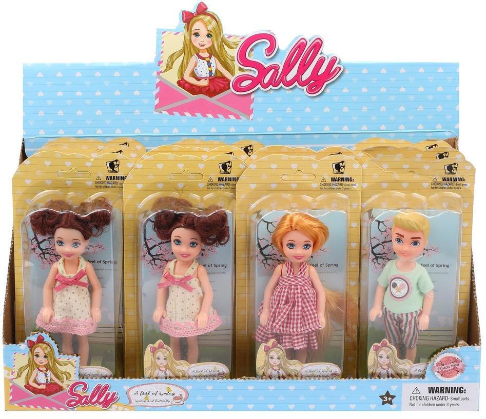 Кукла Салли 14см, в ассорт., блистер