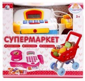 ДЕФЕКТ УПАКОВКИ Набор супермаркет Радочка 32 дет., свет, звук, батар.АА*2шт. не вх.в компл.