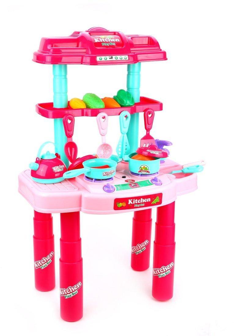 Игровой набор Кухня, в компл.29 предм.., свет, звук, бат.AG13*2шт. в компл. вх., кор