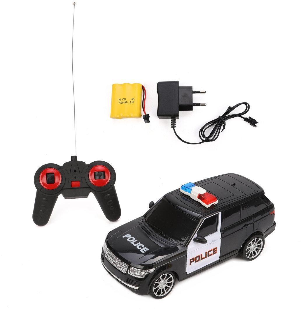 Машина р/у Полиция, 4 канала, свет, аккум., эл.пит.AА*2шт.не вх.в комплект, коробка