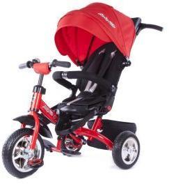 Велосипед 3кол. Leader, разворот сиденья, красн.