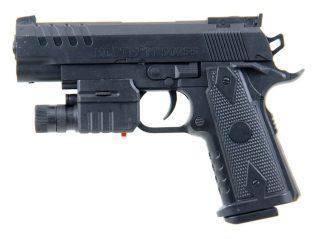 Пистолет мех., 165 мм, свет, лазер, эл.пит.вх.в комплект, коробка