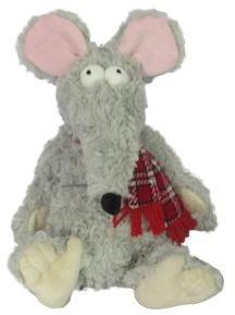 Мышь Длинноносик с шарфом 16,5см.