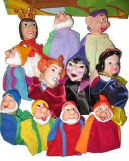 Кук. Театр Белоснежка, 11 кукол