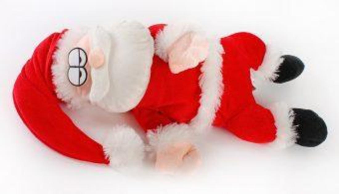 Санта-весельчак, механический
