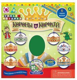 Мозаика-набор Короны Королей 6 шт