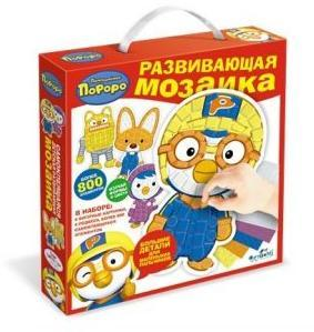 Мозаика-набор для малышей Пороро 4 шт