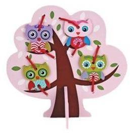 Шнуровка Дерево с совятами