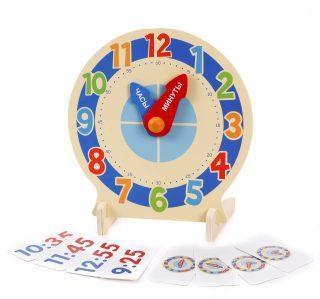 """Развивающая игра с карточками """"Изучаем время"""""""