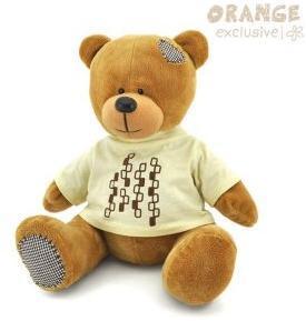 Медведь Топтыжкин коричневый 20см в ассортименте