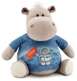 Бегемот в майке Космос 30