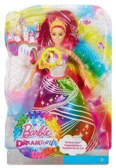 Кукла barbie принцесса с волшебными волосами