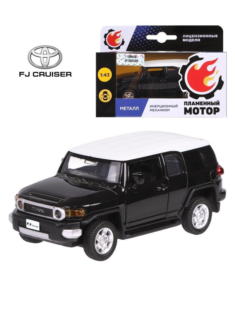Машина мет. 1:43 Toyota FJ Cruiser, откр.двери, цвета в ассорт., 12см