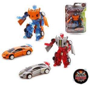 Трансформер Робот-Машина Космобот, металл, в ассорт.
