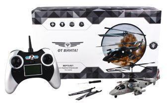 Вертолет р/у От Винта Fly-0235, 4 канала, гироскоп,сервопривод, круговое вращение