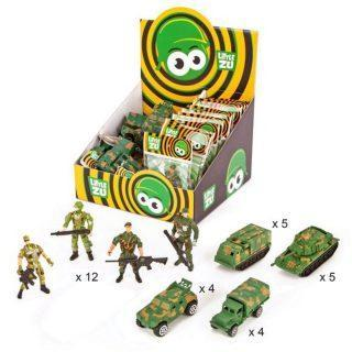 Военная техника ин., фигурки солдат, 30 шт., диспл.