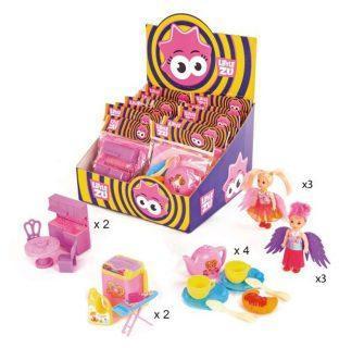 Куколка Фея, набор Чаепитие, Мебель, Маленькая хозяйка, 14 шт., диспл.