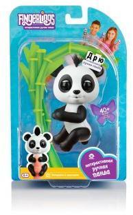Интерактивная панда Дрю, 12 см