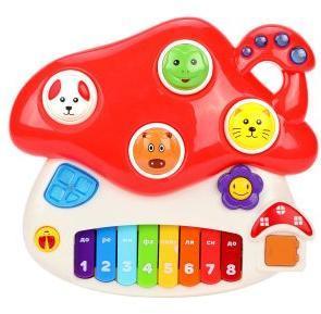 """Музыкальная игрушка """"Грибок"""" со светом"""