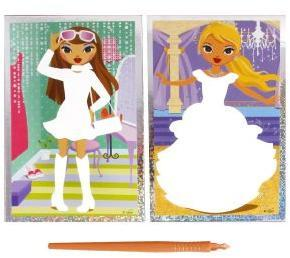 """Гравюра  """"Я - модельер """" - набор, предназначенный для детского творчества. .  Чтобы создать свою гравюру..."""