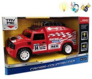 Машинка Racing, 1:18, на батарейках, свет/звук