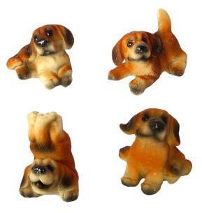 Сувенир Собака Сенбернар 5,5 см, в ассорт.