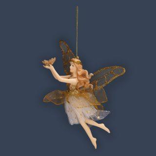 Елочное украшение Фея, 11*9*15,5 см