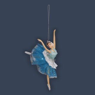 Елочное украшение Балерина, 10*8*15 см