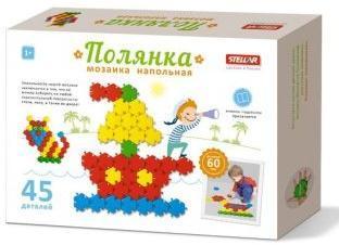 Мозаика Полянка 60мм/45шт - купить со скидкой в интернет-магазине Наша игрушка